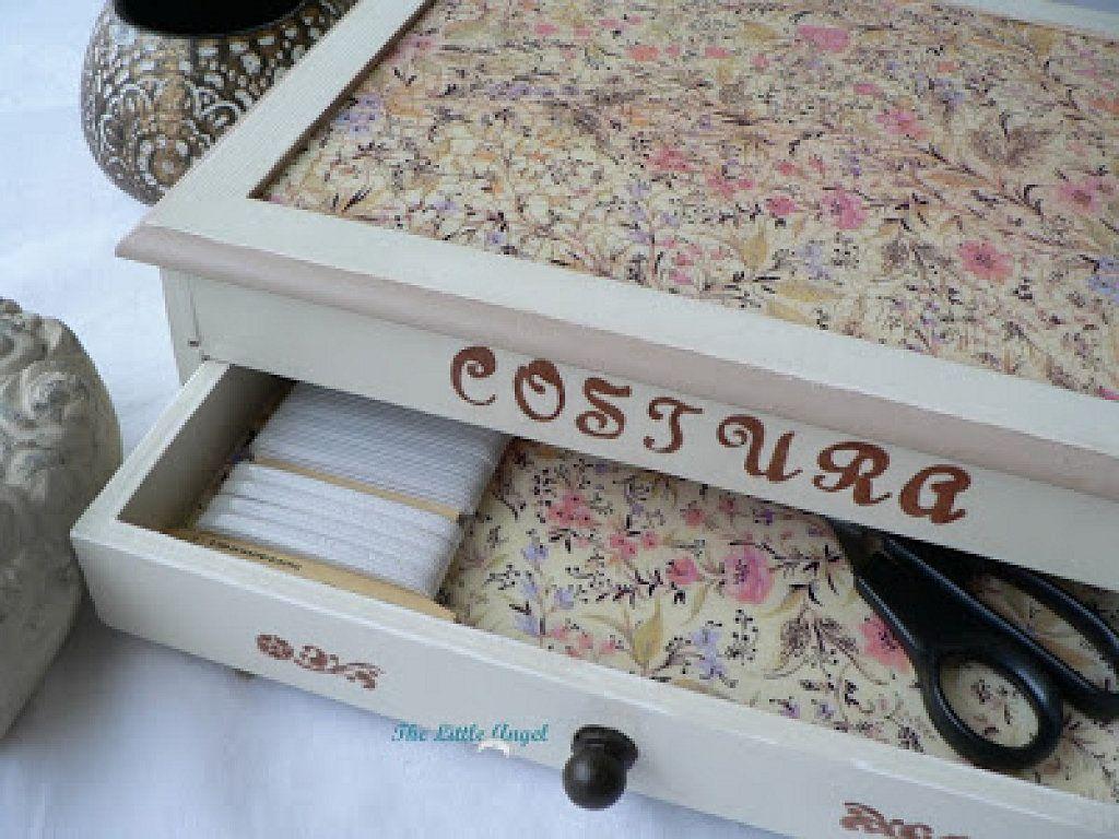 Costureros de madera manualidades - Manualidades con madera ...