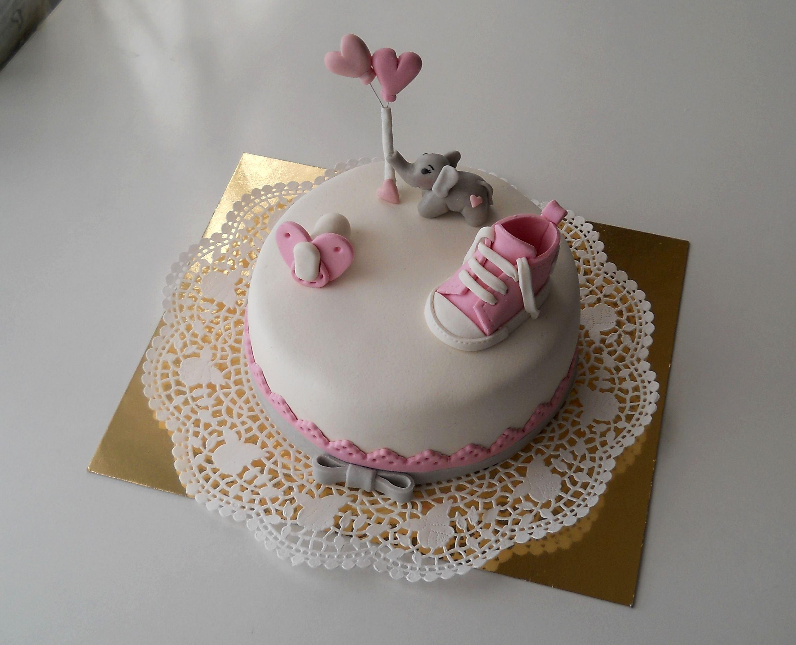 Baby shower cake for girl https://www.facebook.com/marcipandiszek/photos/a.400290863391453.101186.327363434017530/821227384631130/?type=1&theater