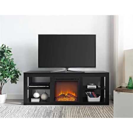 Home Media Console In 2019 Fireplace Tv Stand Electric