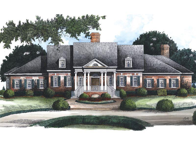 House Plan Norfolk Ridge Stephen Fuller Inc House Plans Dream Home Design Luxury Floor Plans