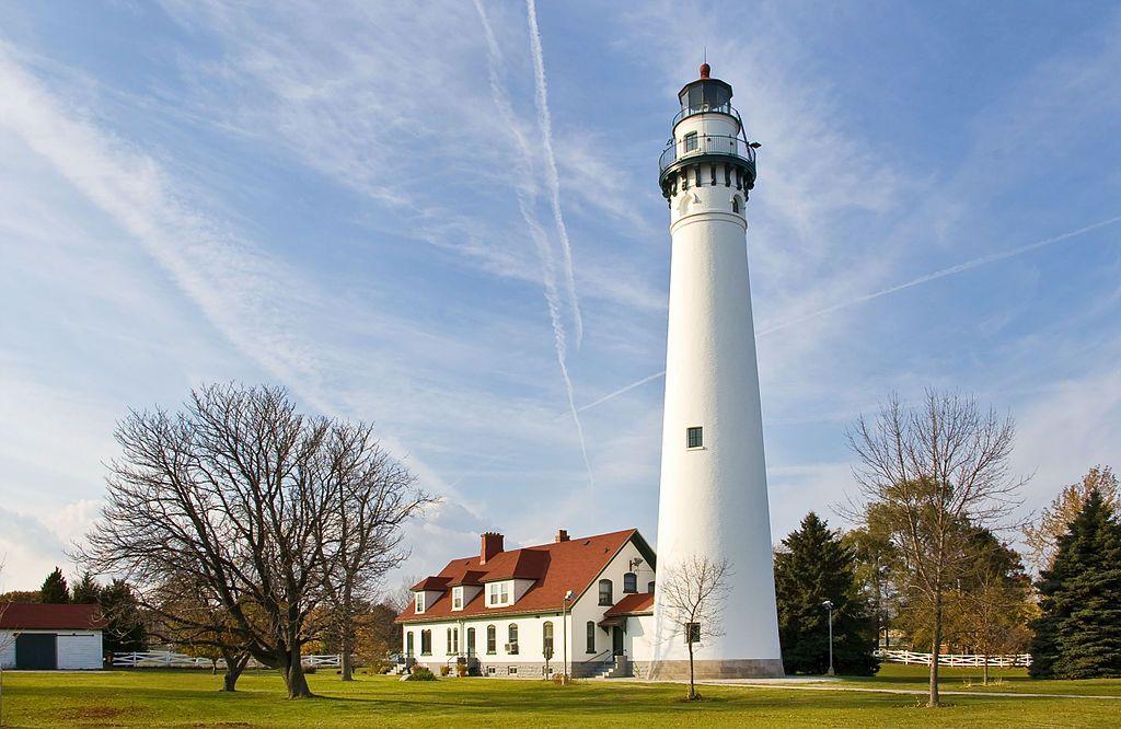 Wind Point Lighthouse 071104 - Portail:Phares — Wikipédia