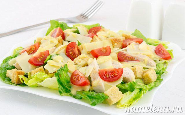 салат греческий рецепт классический с курицей и помидорами
