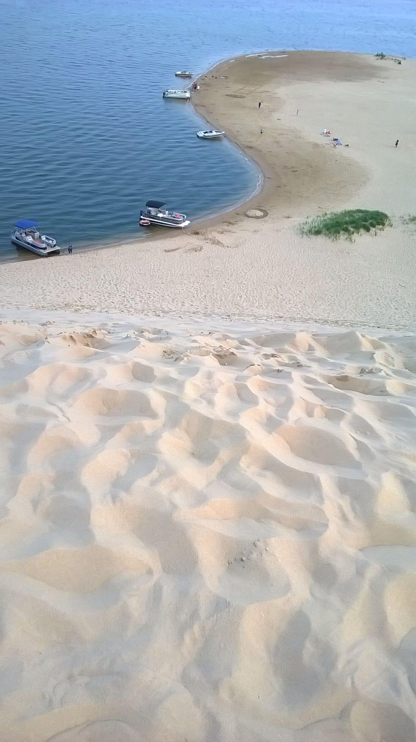 Razorback Sand Dune Overlooking Silver Lake Mears Michigan