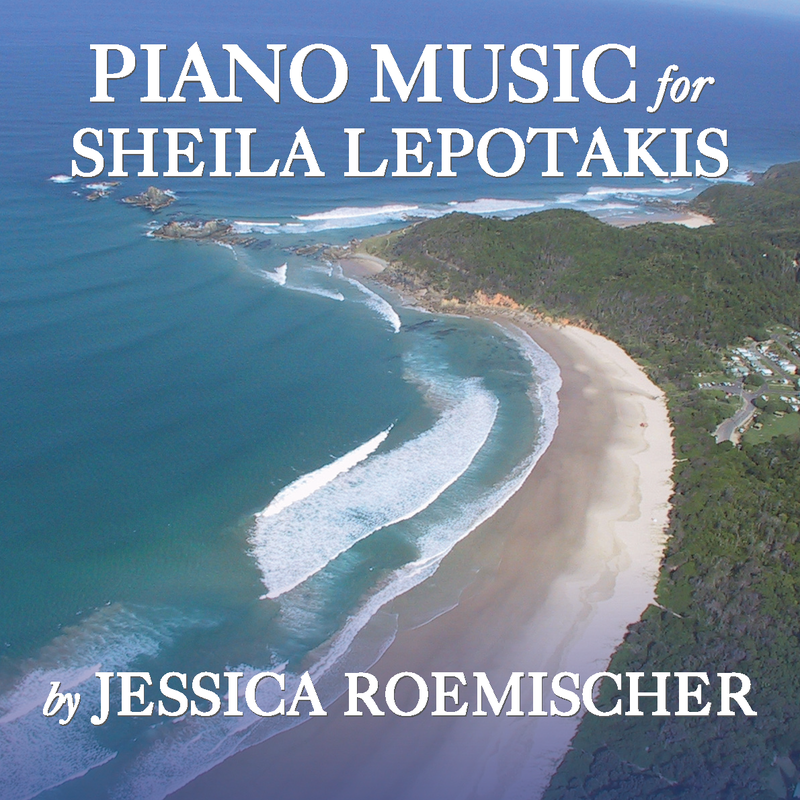 Personalized Piano CD's by Jessica Roemischer  Specially-created piano music will enhance any important life event: a birth (beautiful music to put the newborn to sleep), birthday--young or old!, wedding (imagine a CD compilation of the bride and groom's favorite songs), new job, important move or change, a dream or vision (the songs that inspire you most), the memorial of a loved one, as a special gift for any occasion.