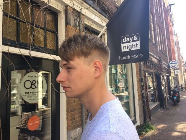 Clean cut. Day & Night Hairdressers. Kapper Amsterdam.