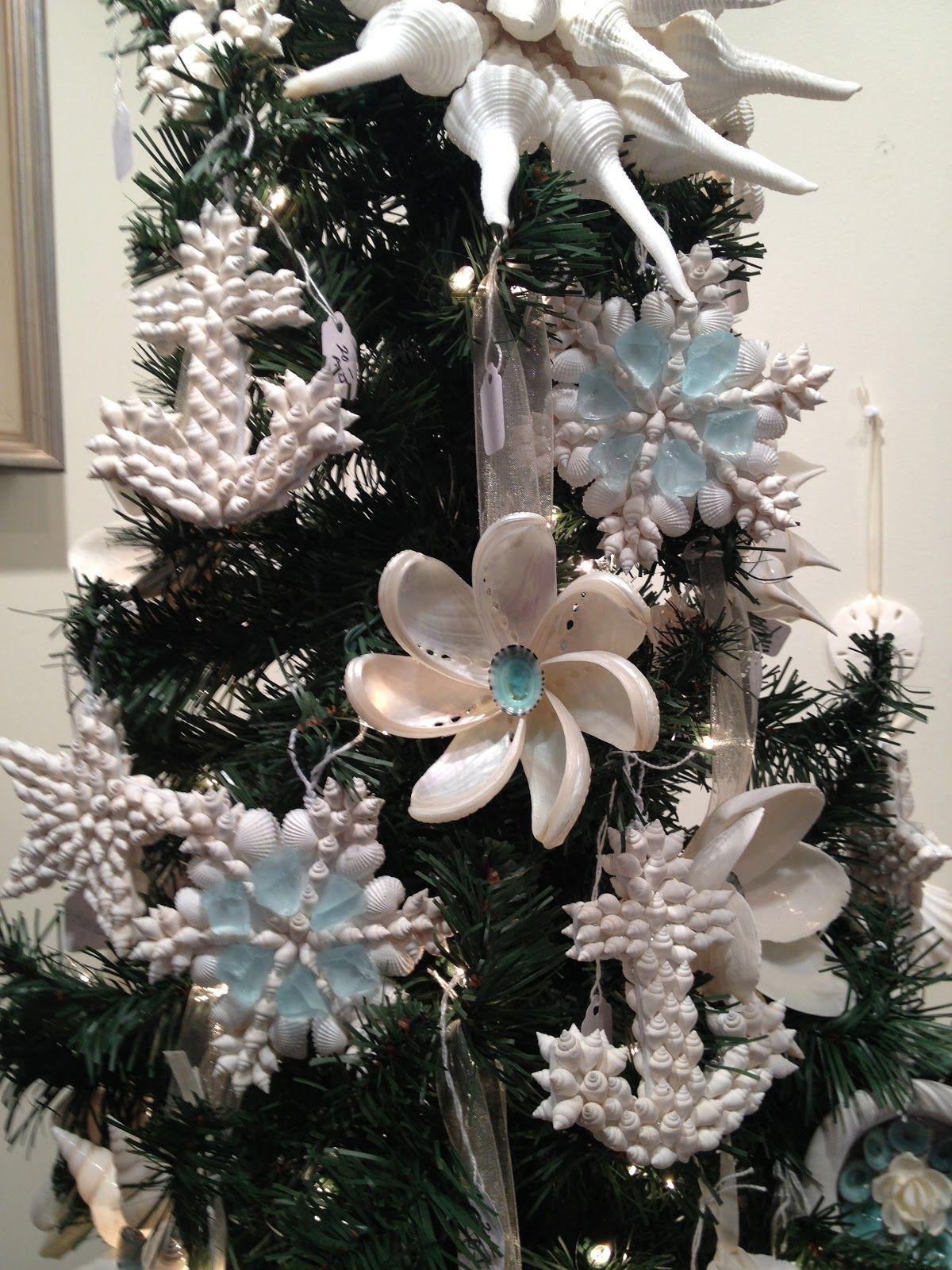 Fine Shell Art Blog Shells Shell Art Other Coastal Delights Seashell Christmas Ornaments Seashell Crafts Shell Crafts