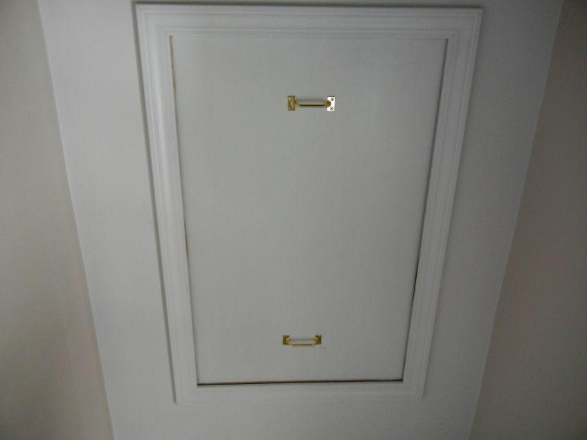 Ceiling Access Door Attic Doors Attic Design Attic Remodel