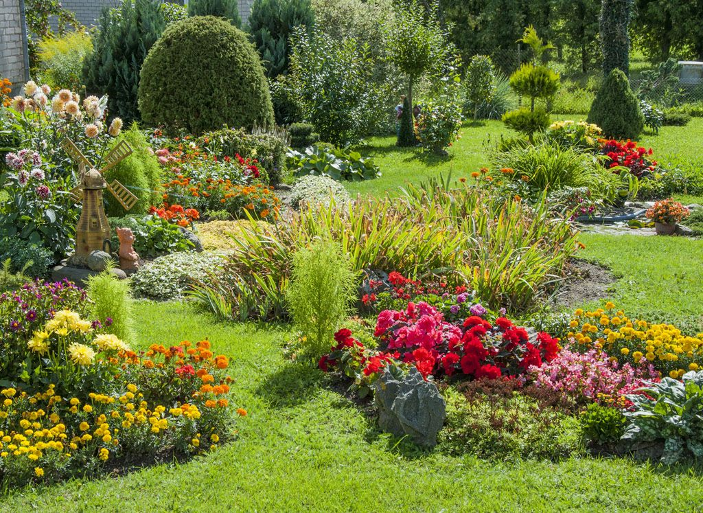 Durig Gartenbau Fotogalerie Urtenen Schonbuhl Schoner Blumengarten Bilder Von Landschaften Blumenbeet