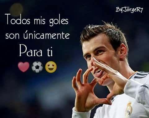 Todos Mis Goles Son Unicamente Para Ti Madridista Hasta La Muerte