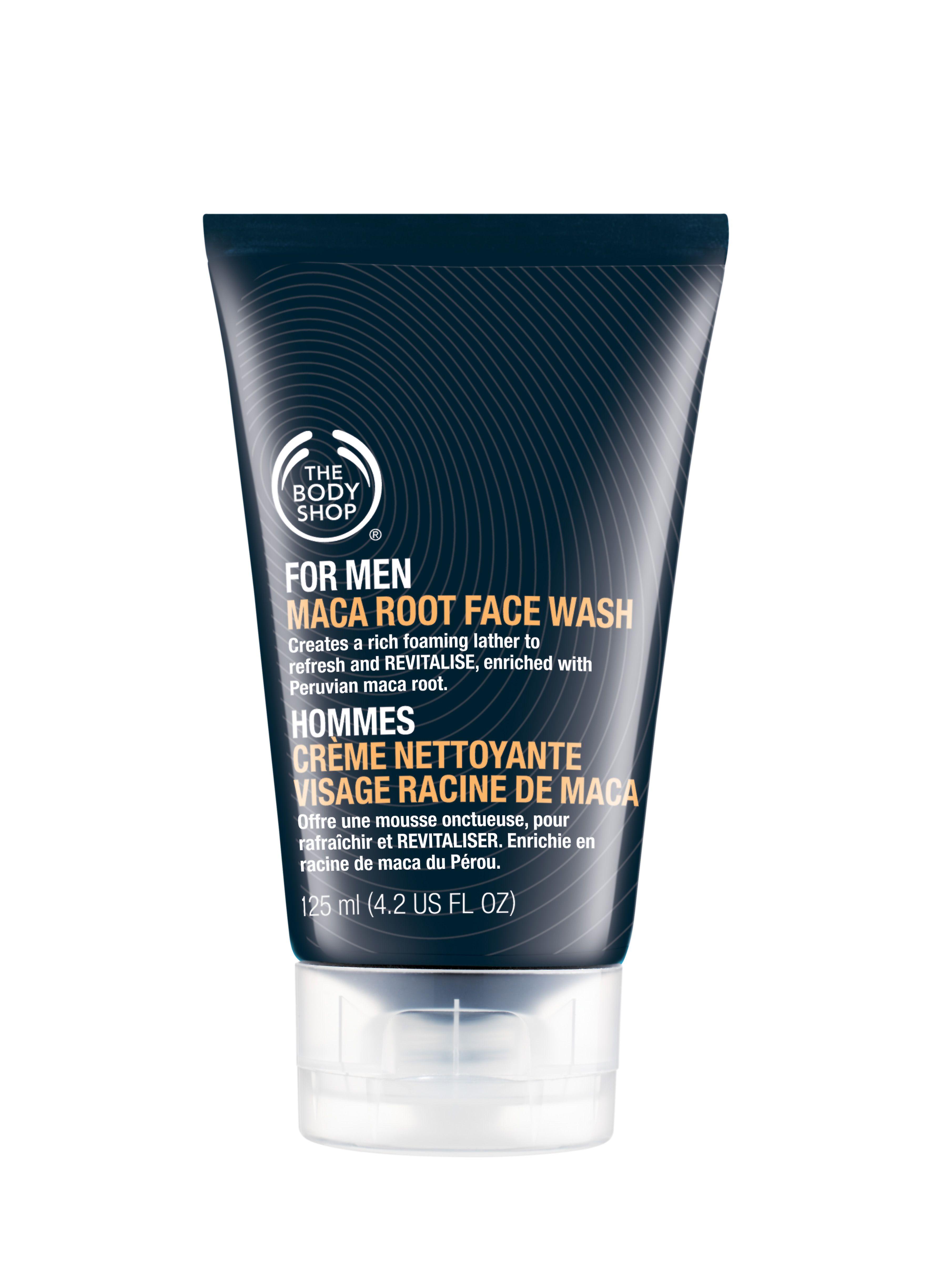 Żel do mycia twarzy przeznaczony dla mężczyzn. Posiada w