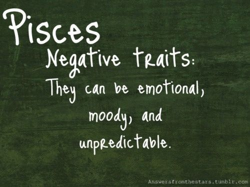 Top Pisces Negative Personality Traits Wallpapers Pisces