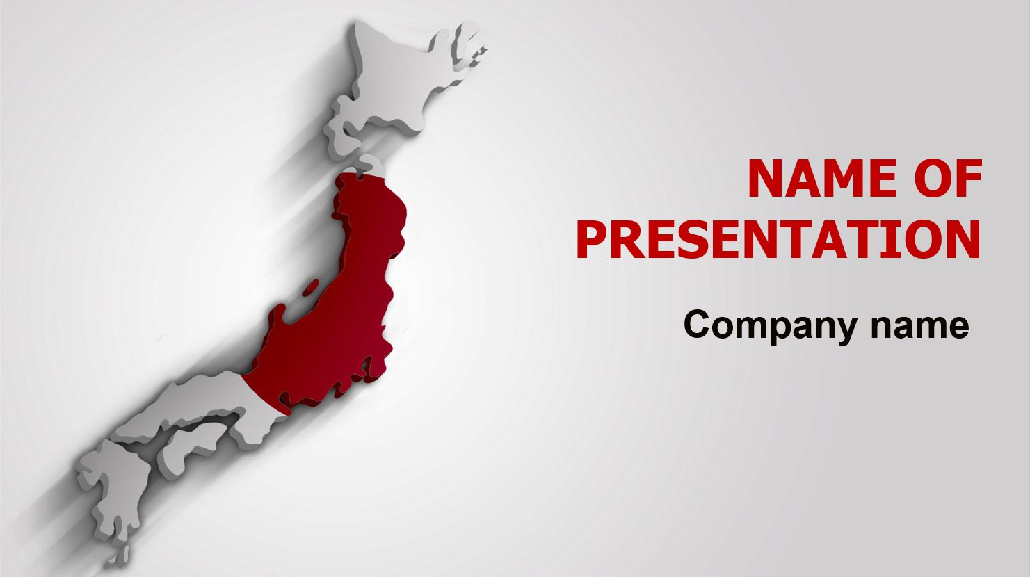 japan flag powerpoint theme. this beautiful and creative, Presentation templates