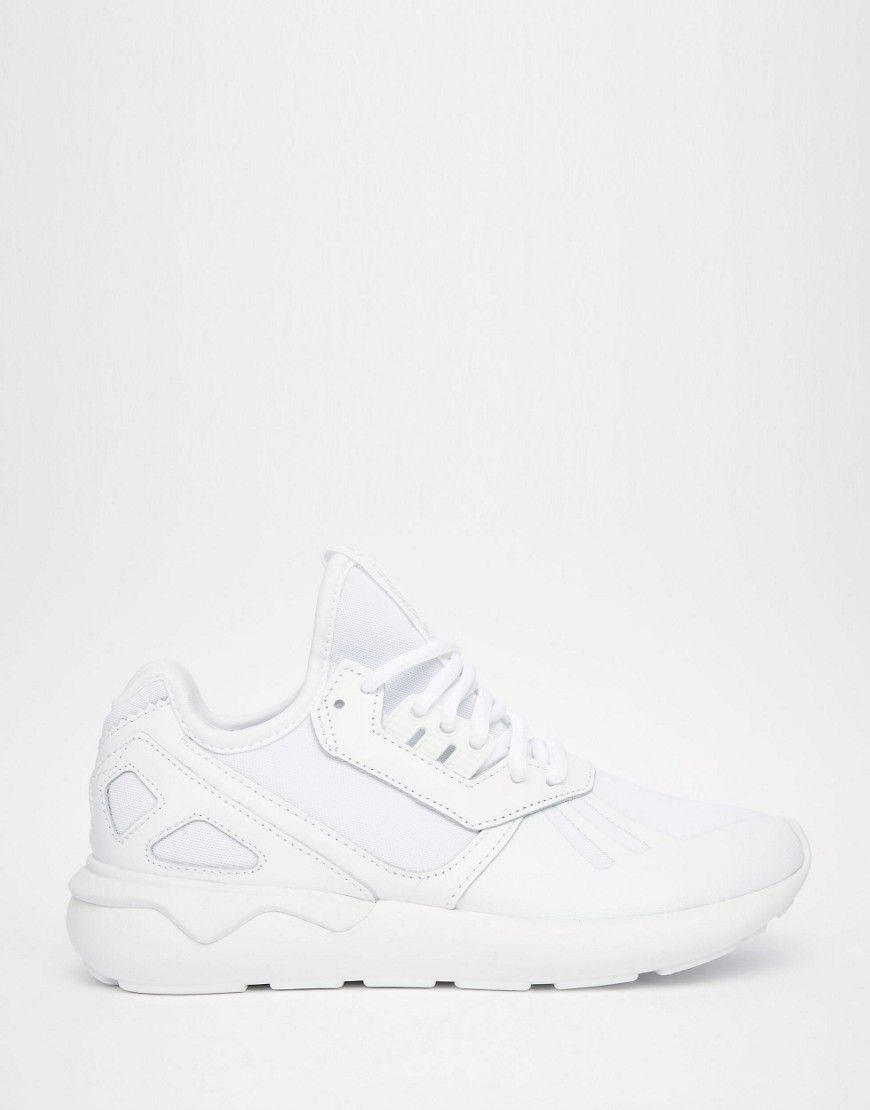 reputable site 33072 af5c0 Image 2 of adidas Tubular Runner White Trainers