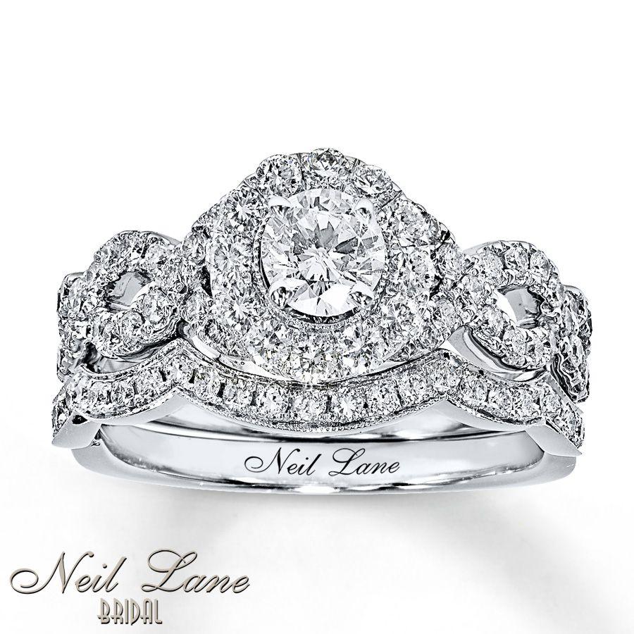 Neil Lane Bridal Set 1 Ct Tw Diamonds White Gold My One True Pick Love This Ring