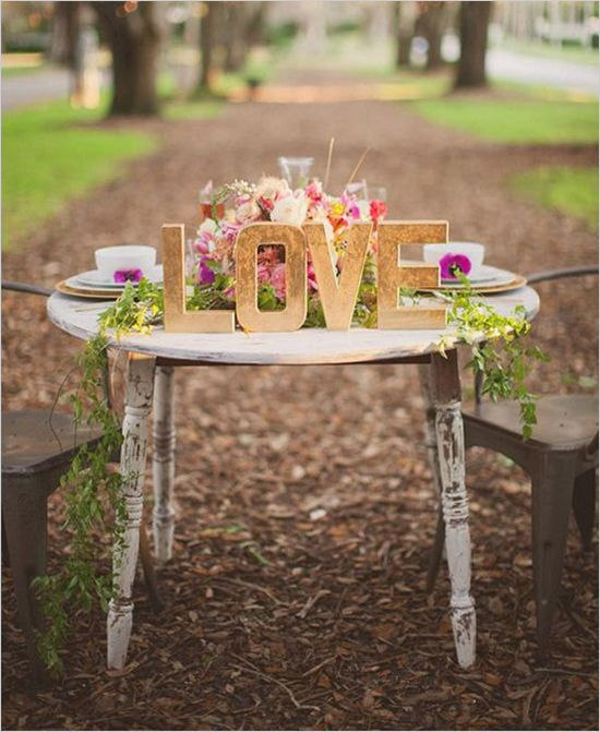 Jodiee S Blog Wedding Ceremony Table: 15 Darling Sweetheart Tables