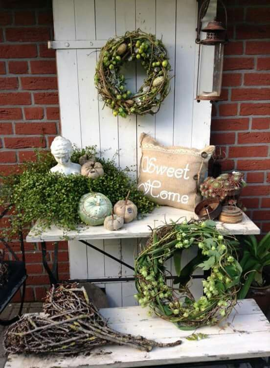 Rustikal garteninspirationen pinterest rustikal for Dekoration stuhl