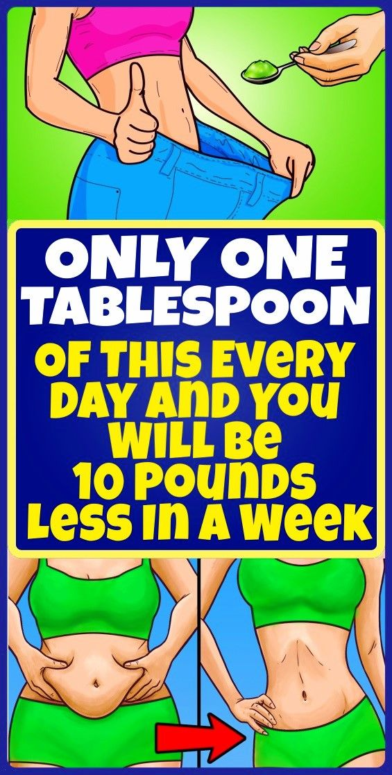 Just A Single Tablespoon of This Mixture Every Day Will Cut 10 Pounds in a Week The recipe that we are about to share with you is mainly promoted for folks that need to c...