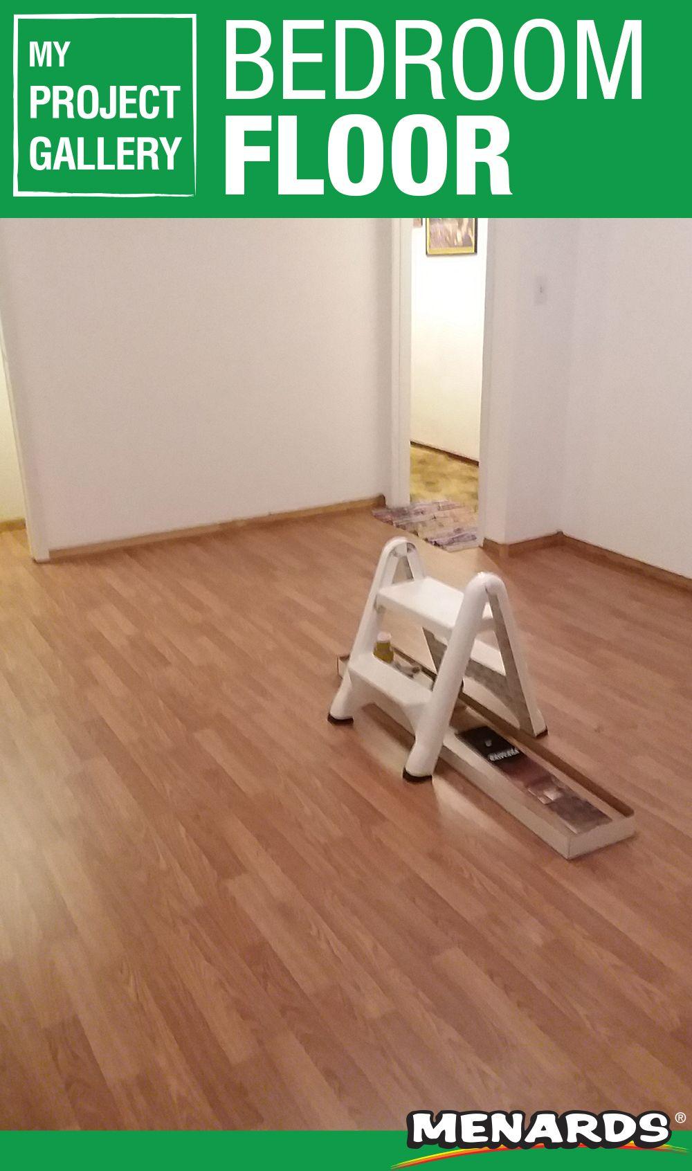 In between work and life, this bedroom floor got a major