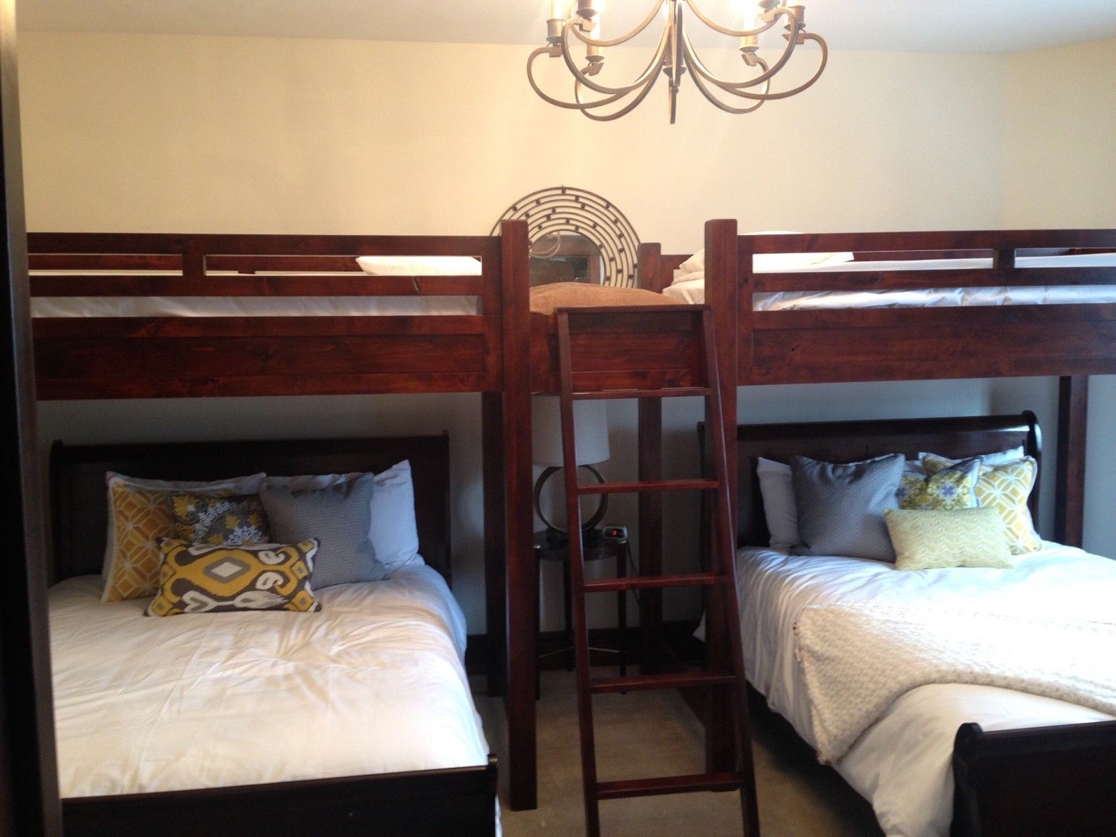 Hand Made Bunk Beds And Other Furniture Double Double Bunk Bed