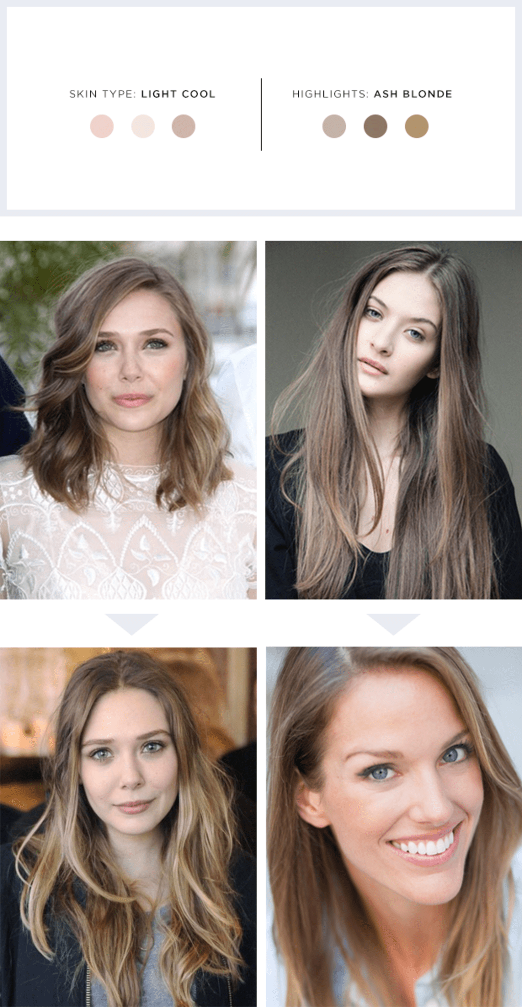 Imgenes De Hair Color For Cool Pale Skin Tones