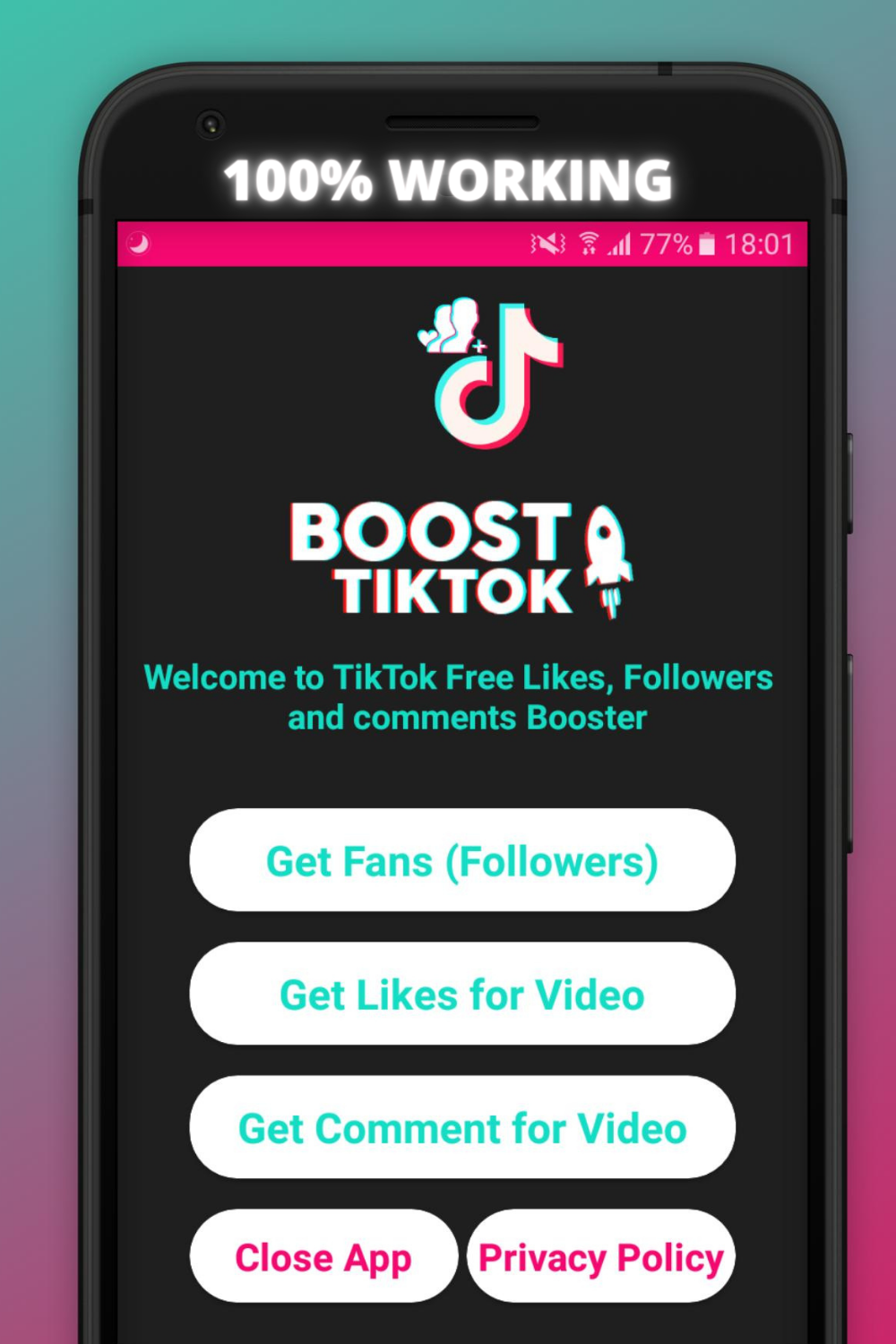 All Ways To Get Free Fans In Tiktok Easy In 2021 React App How To Get Followers Free Social Media Marketing