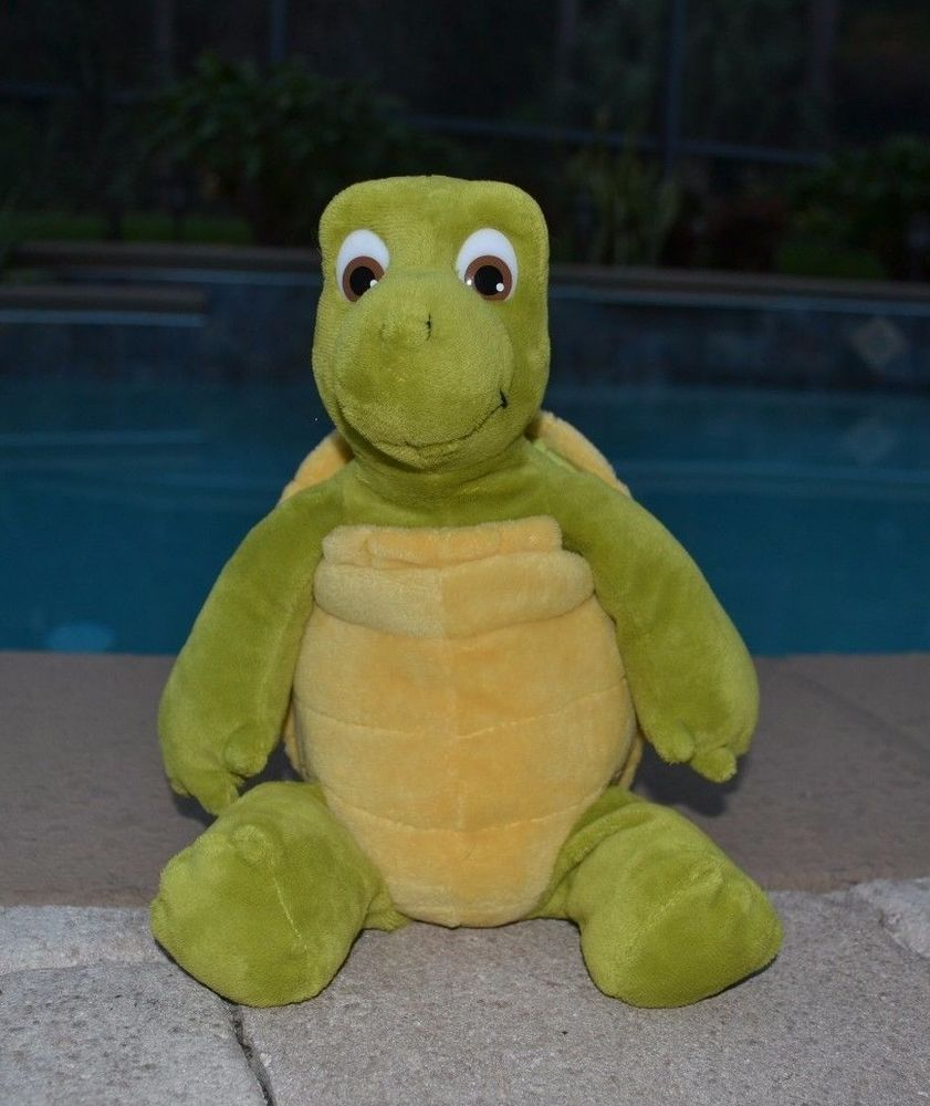 Uncategorized Verne The Turtle kohls plush turtle over the hedge verne 12 2006 dreamworks green brown 1c dreamworks