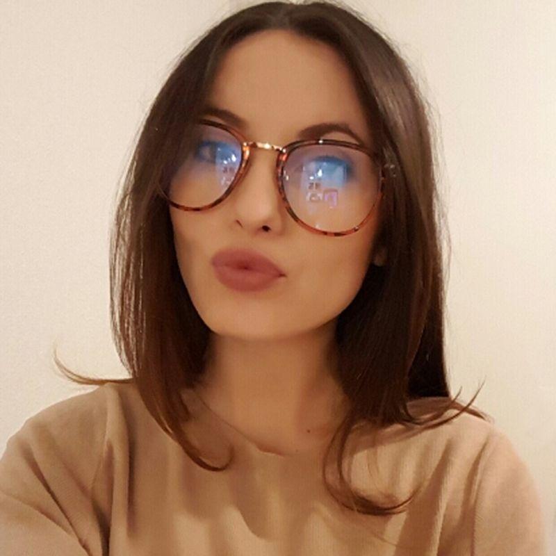 5b9955cbfc2 Newest Oversize Glasses Frames Metal Leg Vintage Eyeglasses Frame Women Men  Fake Plain Glasses Fashion Eyewear For Woman man  women