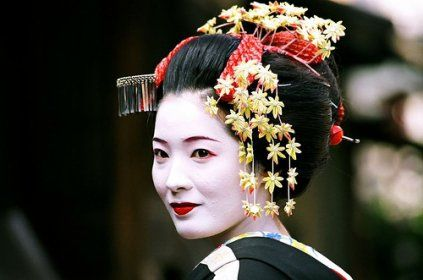 geisha peinture Recherche Google Belles photos Femme