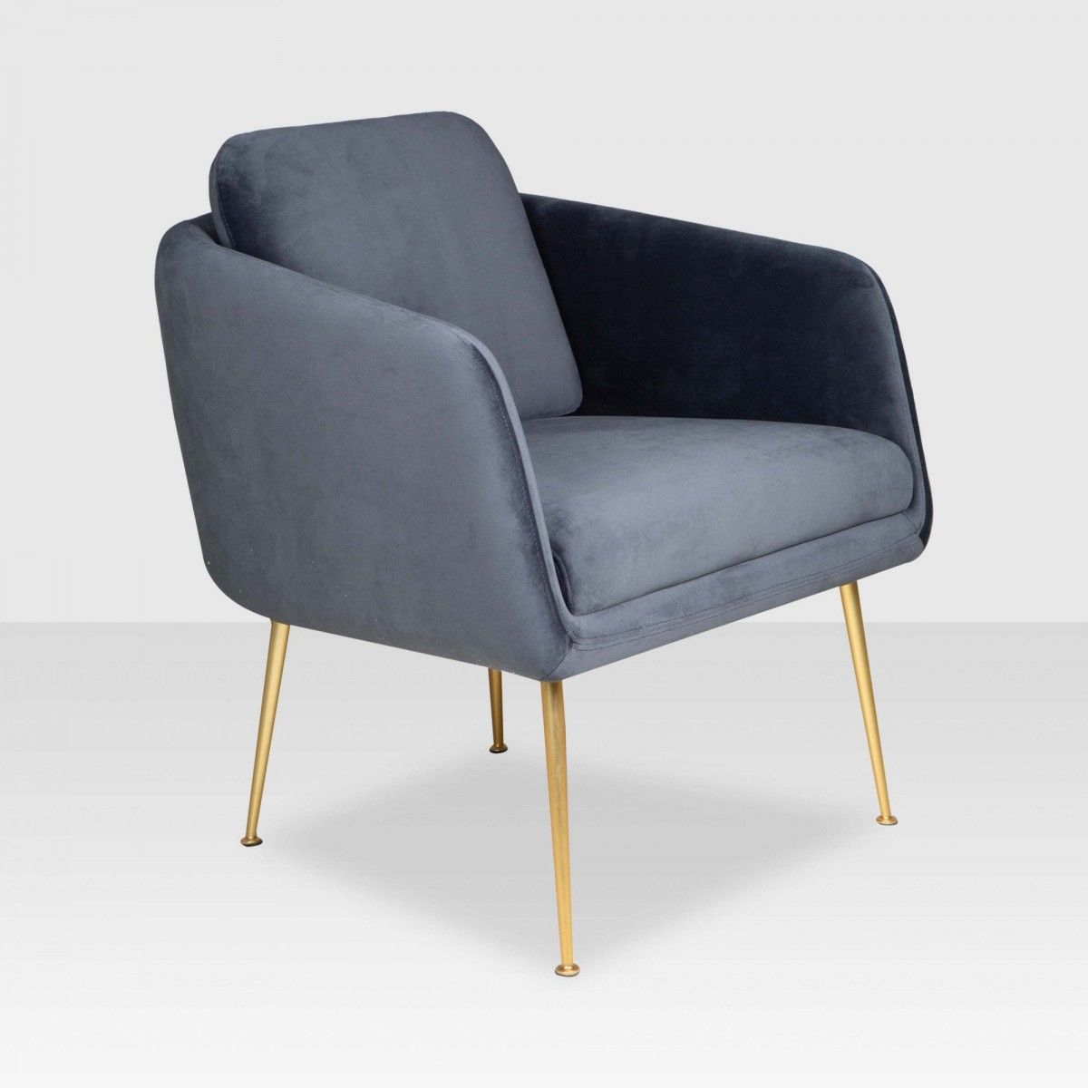Best Meg Arm Chair Deep Blue Elte Market Armchair 640 x 480