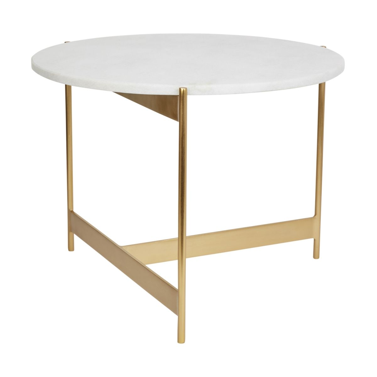 Table Basse Omarbre Marbre Metale Et Marbre Blanc 38 X O50 Cm Taille Taille Unique Table Furniture Coffee Table