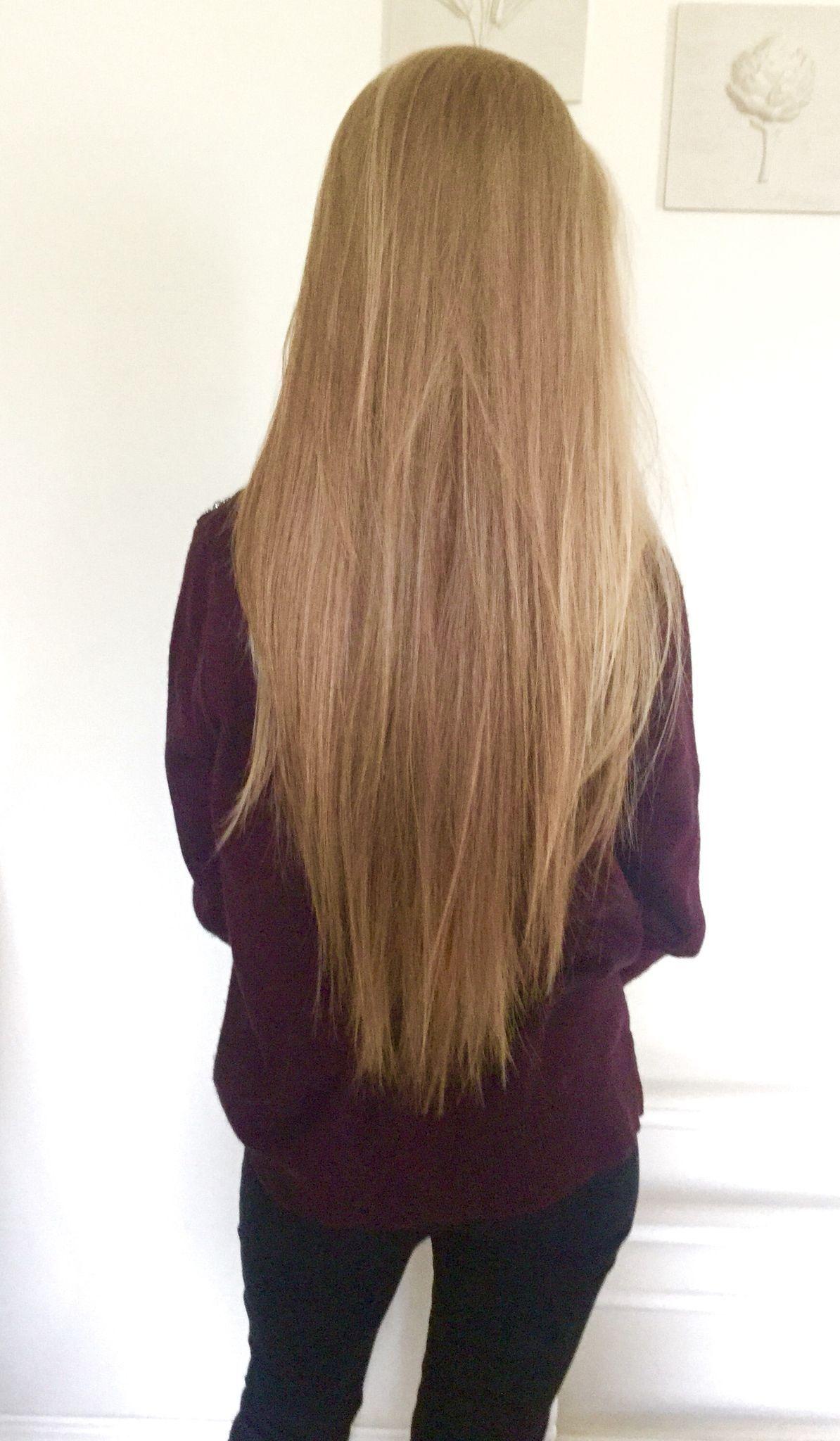 Frisuren V Schnitt - Frisurentrends  Langt rett hår