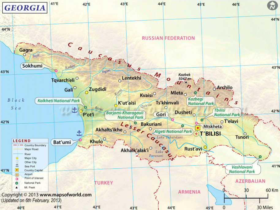 Pin by givi makharadze on georgia pinterest georgia georgia country map with longitude and altitude gumiabroncs Choice Image