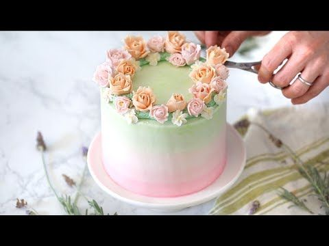 How to Decorate a Cake - Preppy Kitchen