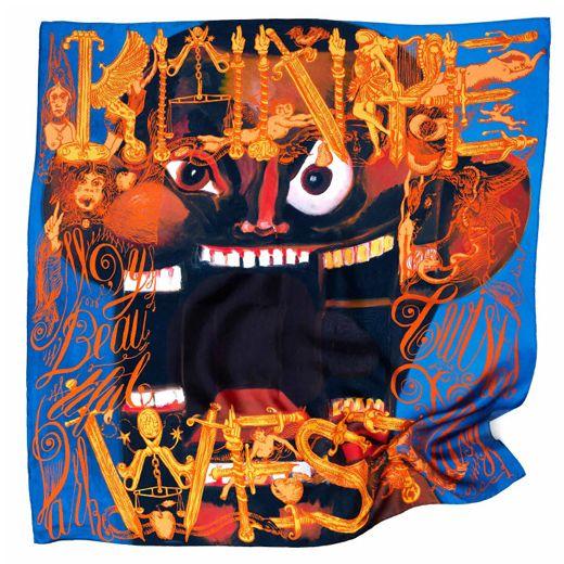 Kanye West Face scarf