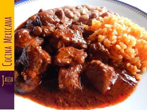 Carne Con Chile Colorado Carne Con Chile Colorado De Jauja Cocina Mexicana Carne De Puerco Jugosa Y Su Asado De Puerco Receta Carne De Puerco Asado De Puerco