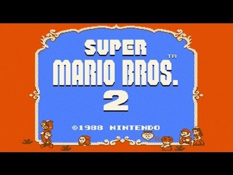 Super Mario Bros  2 USA - Mario Madness (NES) HD Complete