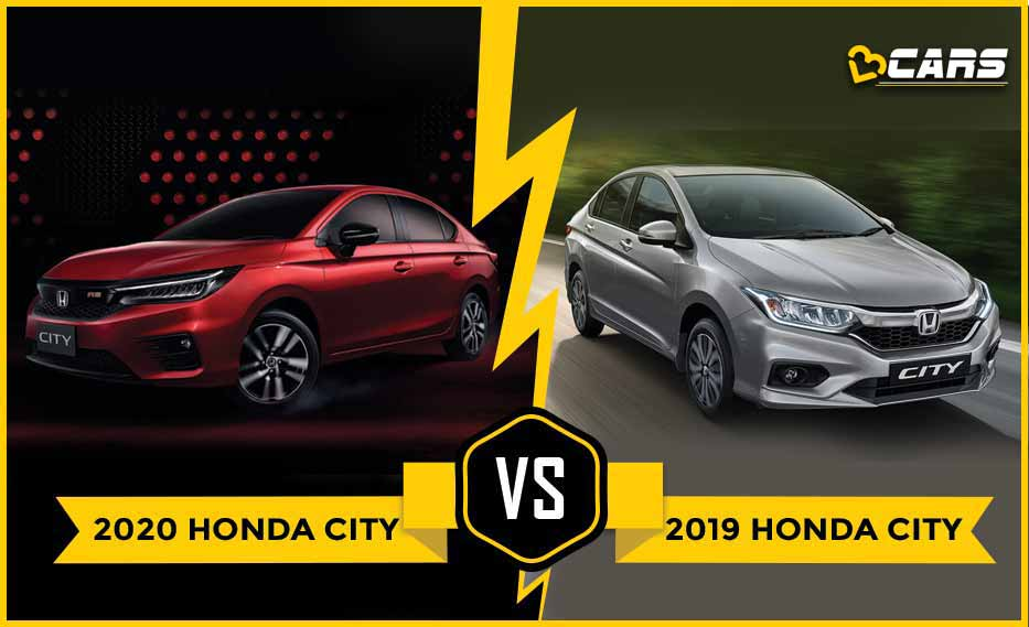 2019 Honda City Vs India Bound 2020 Honda City Old Vs New What S Different Honda City Honda City