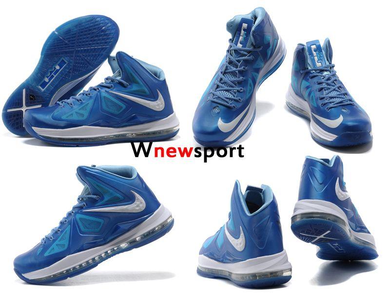 2d3add0ed415 Nike LeBron X 10 Blue Diamond