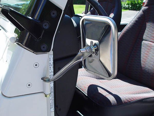 Jeep Doorless Budget Mirror Mount Jeep Mirrors Diy Jeep Built Jeep
