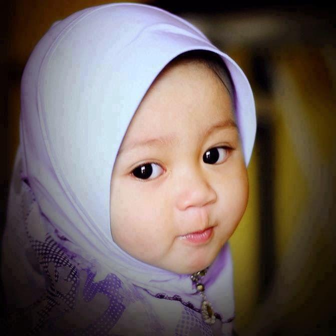99 Gambar Bayi Lucu Berhijab Kartun Cikimm Com