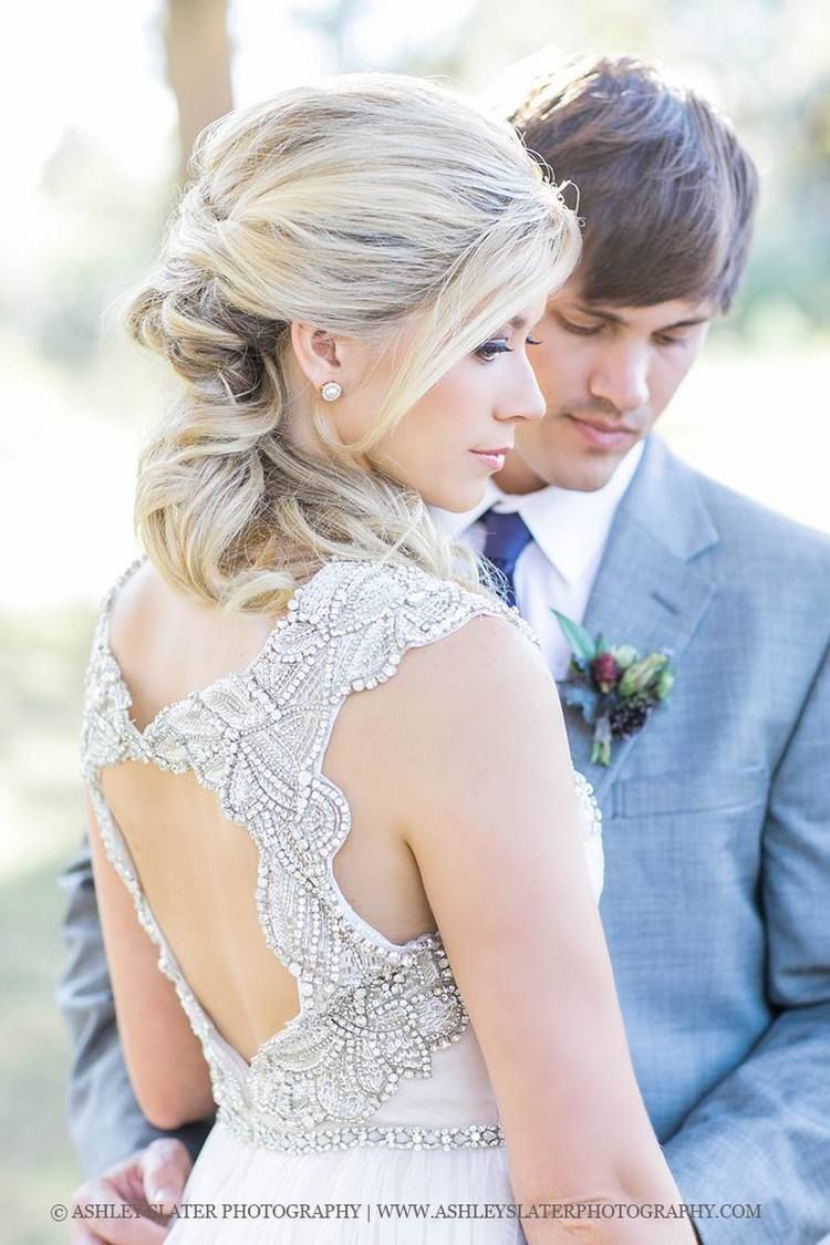bridal hair updo with soft curls for a fresh modern bride beauty asylum hair makeup in charlotte nc