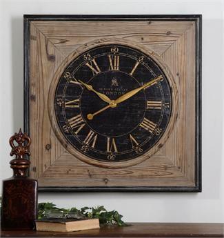 Large Wall Clocks Oversized Big Clocks At Clockshops Com Wall Clock Clock Wood Wall Clock