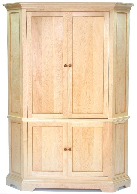 Corner Armoire | ClearLake Furniture