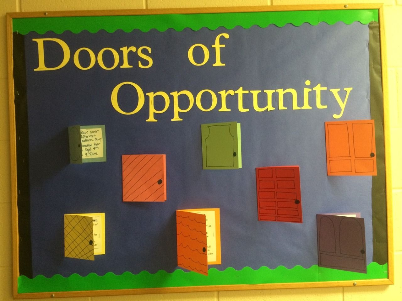 UE RA Bulletin Boards — Doors of Opportunity  Ways to get involved on... #rabulletinboards