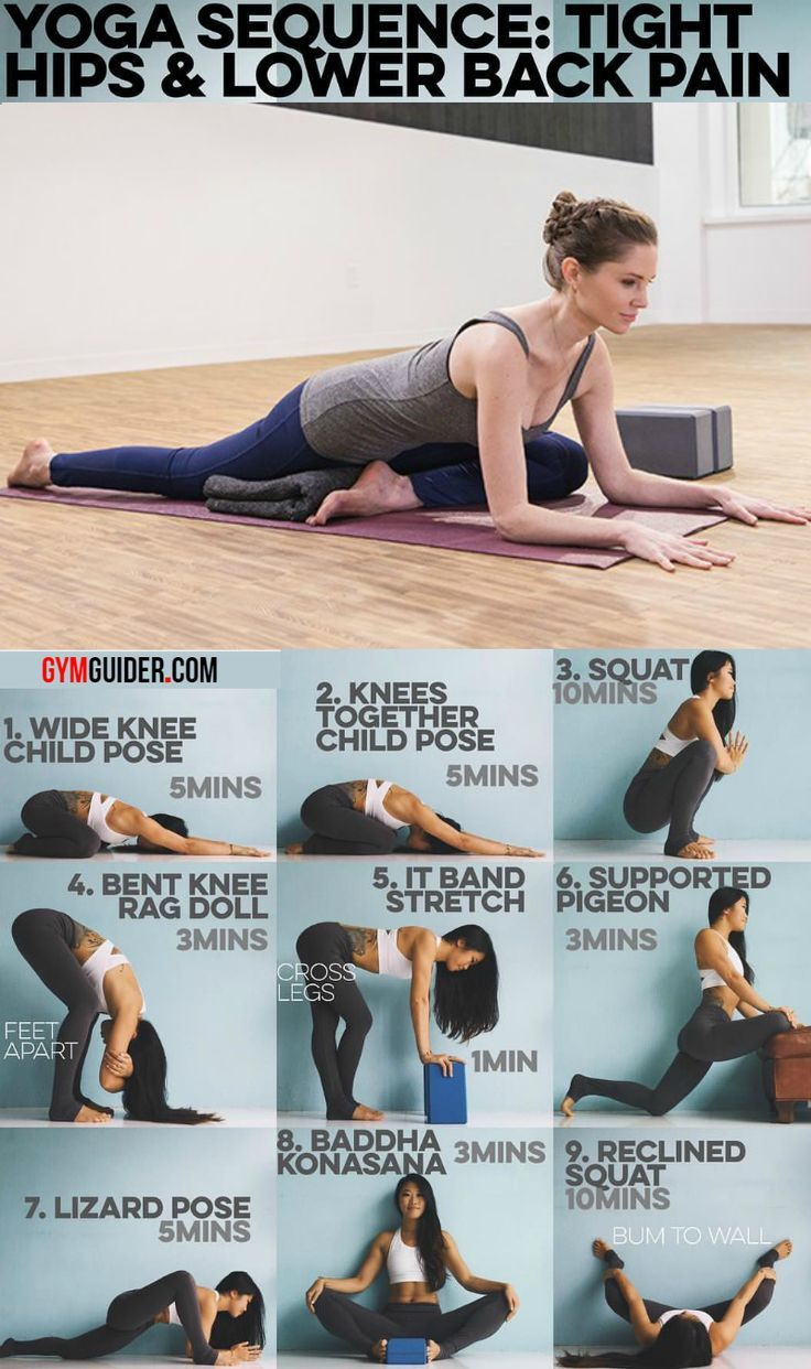 Do You Have Tight Hips? Then Try These 13 Yoga Poses for Tight Hips - GymGuider.com #relationships