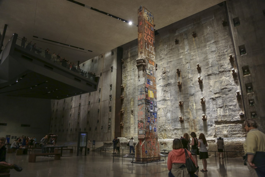 National September 11 Memorial Museum By Thinc Design With Local Projects Layman Design Core77 Design Awards In 2020 September 11 Memorial Memorial Museum Museum