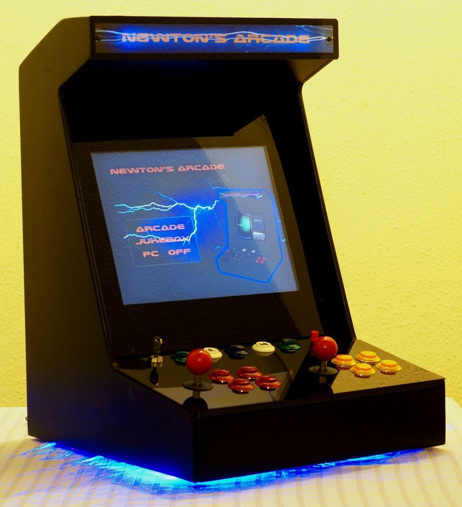 DIY Desktop Arcade Machine --> Http://www.instructables.com/id/Diy-Arcade-Machine-preview