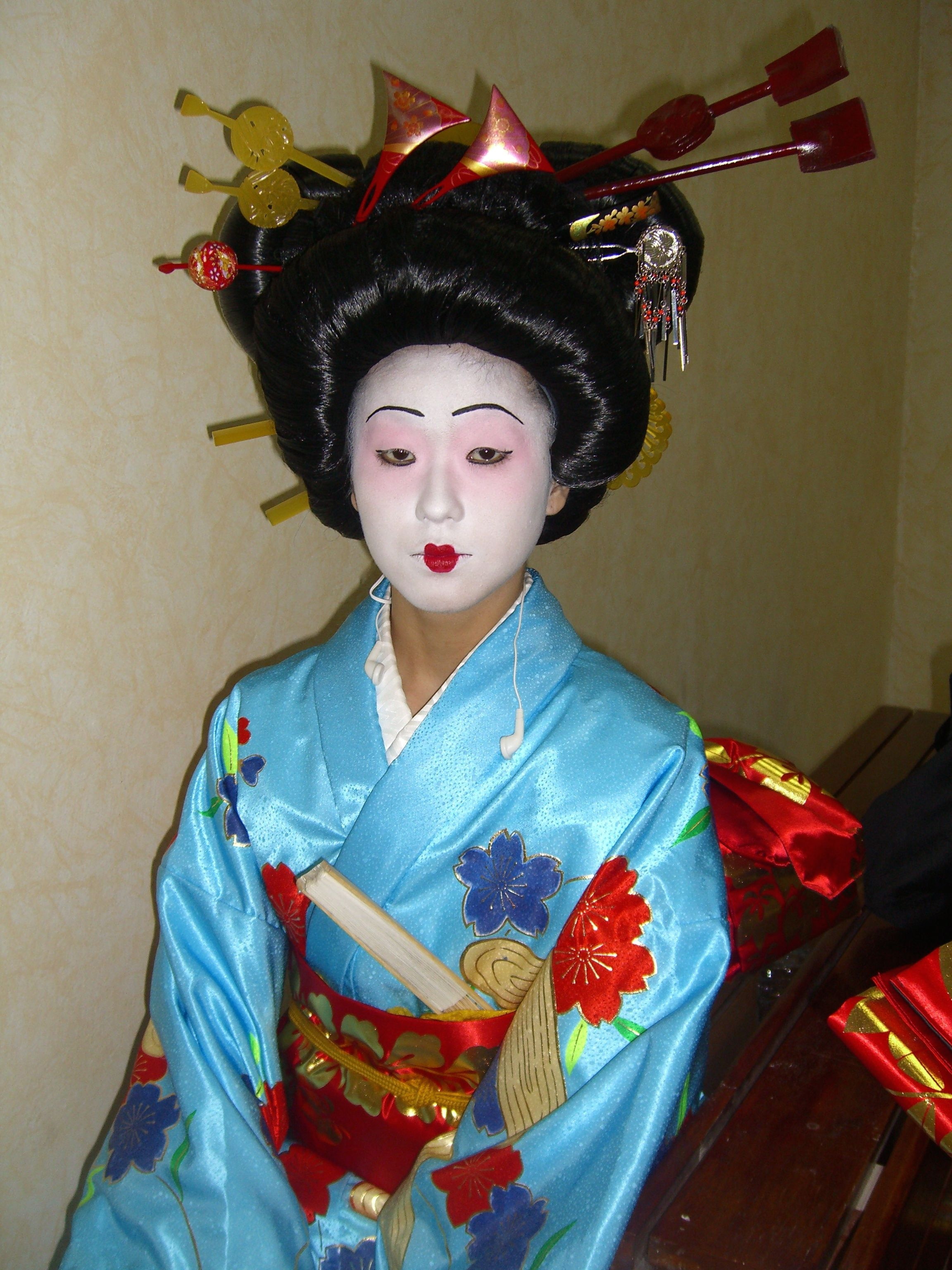 ca92bca6cc Japanese girl in makeup Asian Games | Costume Couture | Costumes ...