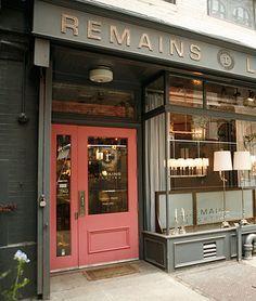 Best Exterior Store Shop Colors Google Search Pink Front Door Cafe Door Coral Front Doors