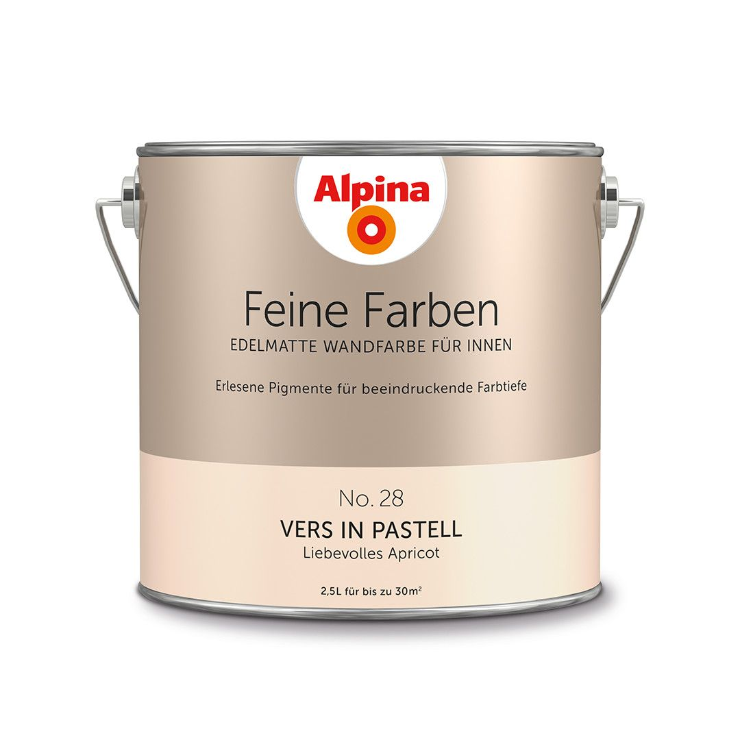 Alpina Feine Farben No 28 Vers In Pastell Design Diy Farbe Einrichten Wohnen Inspiration Wandgestaltung Premiu Feine Farben Alpina Farben Wandfarbe